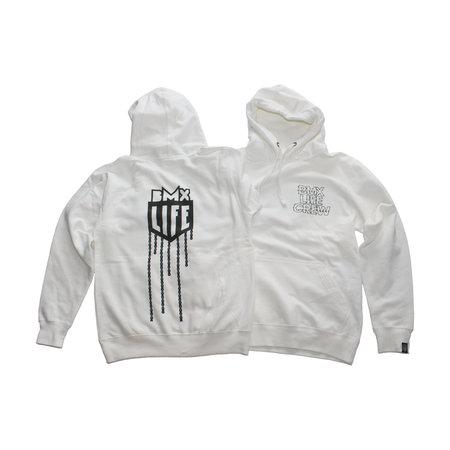 BMX LIFE Chain Hoodie (white)