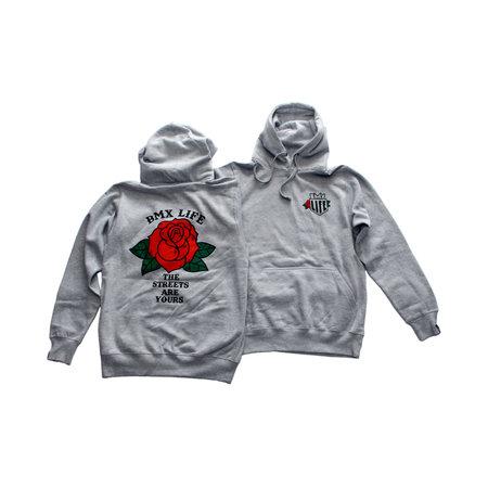 BMX LIFE Rose Hoodie (grey)
