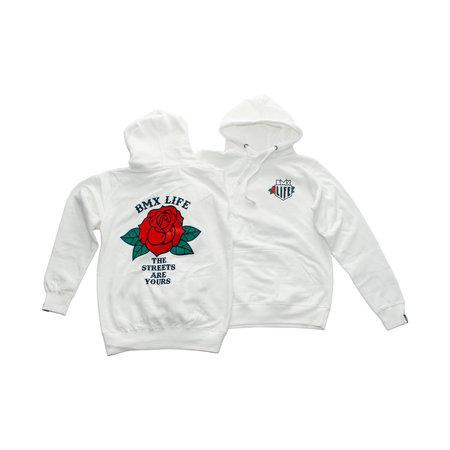 BMX LIFE Rose Hoodie (white)