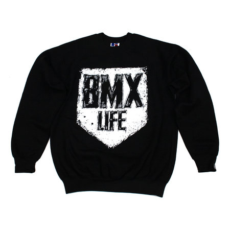 BMX LIFE Tarcza Crewneck (black)