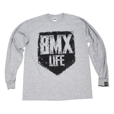 BMX LIFE Tarcza LS (grey)