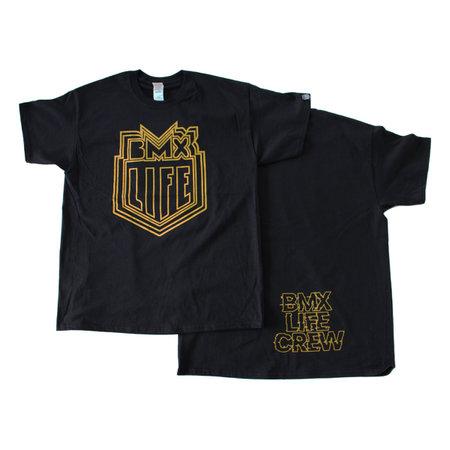 BMX LIFE Trippy logo (bk/gold)