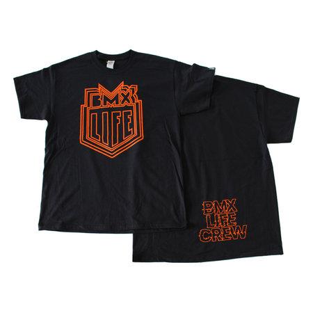 BMX LIFE Trippy logo (bk/orange)