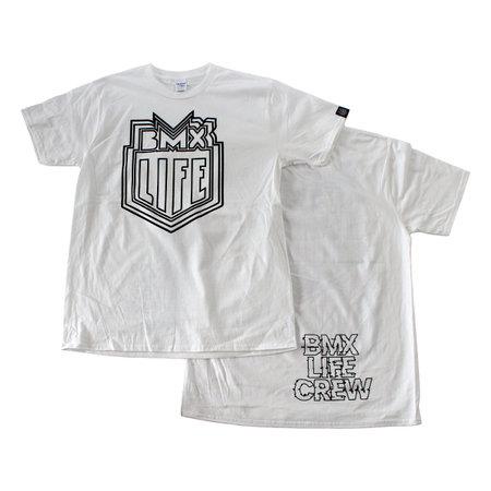 BMX LIFE Trippy logo (white)