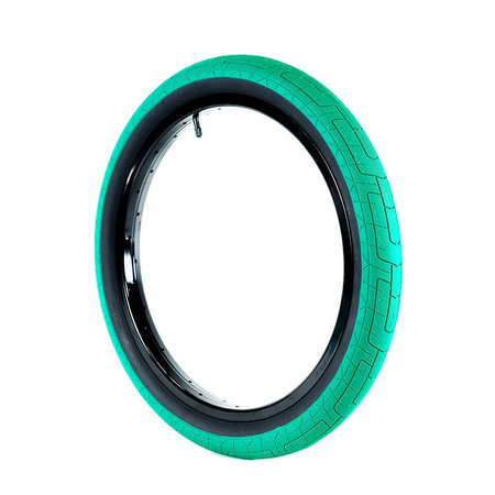 Colony Griplock tire (green/black wall)