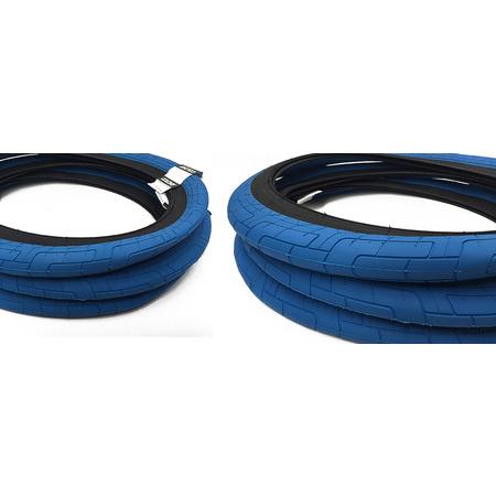 Colony Griplock tire (blue/black wall)