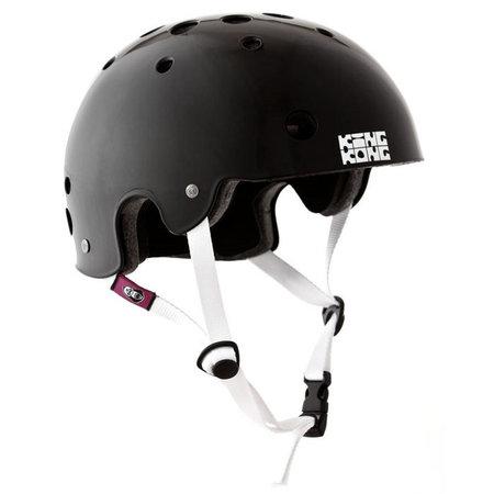 King Kong New Fit (shiny black/white straps)