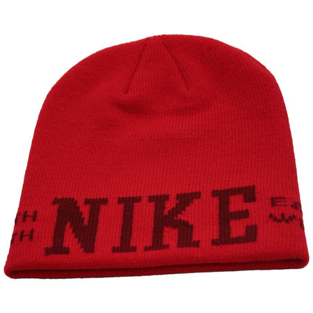 NIKE Graphic Skully Beanie (red)