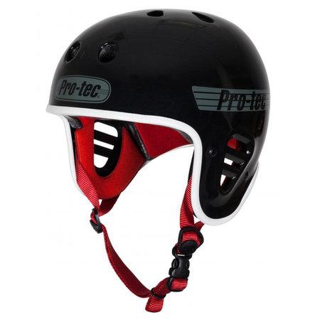 PROTEC FullCut helmet (blcak/red)