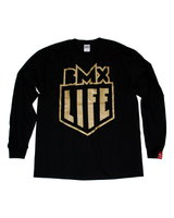 BMX LIFE Herb Gold LS (black)