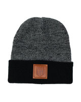 BMX LIFE Patch Beanie (black/grey)