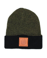 BMX LIFE Patch Beanie (green/black)