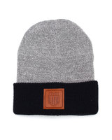 BMX LIFE Patch Beanie (grey/navy)