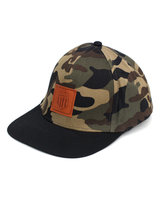 BMX LIFE Snapback (camo/black)