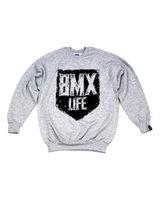 BMX LIFE Tarcza Crewneck (grey)