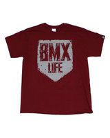 BMX LIFE Tarcza (maroon)