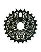 FEDERAL BBS Solid sprocket (black/silver)