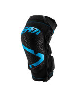 LEATT 3DF 5.0 ZIP Knee Guard (black/blue)