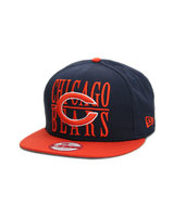 NEW ERA Step Over Chicago Bears 9FIFTY Snapback (navy)