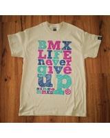 BMX LIFE Never give up v2 (sand)