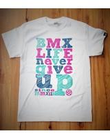 BMX LIFE Never give up v2 (white)