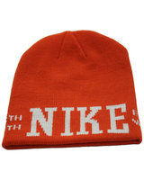 NIKE Graphic Skully Beanie (orange)