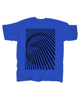 SHADOW CLTH Read Between The Lines t-shirt (blue)
