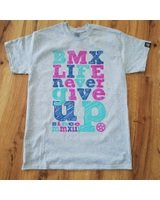 BMX LIFE Never give up v2 (grey)
