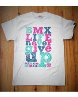 BMX LIFE Never give up v2 (white)